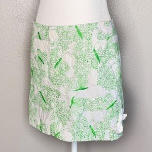 Lilly Pulitzer Butterfly Embroidered Skirt Skort 4